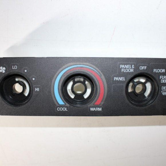Dash Control Panel